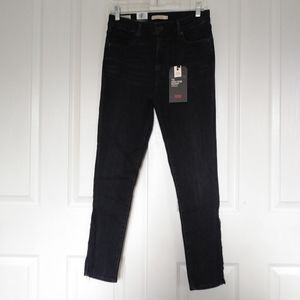 Nwt Womens Levi's 721 High Rise Skinny Jeans 29